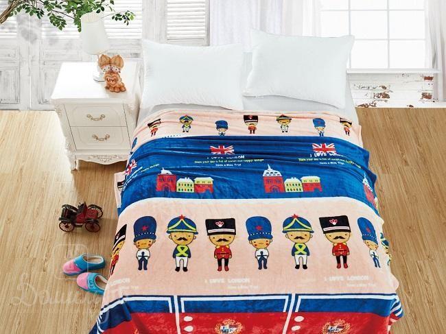 Плед детский из фланели БАМБИНО VAR-4 150х200 от Cleo (Китай) - купить по низкой цене в интернет магазине Домильфо