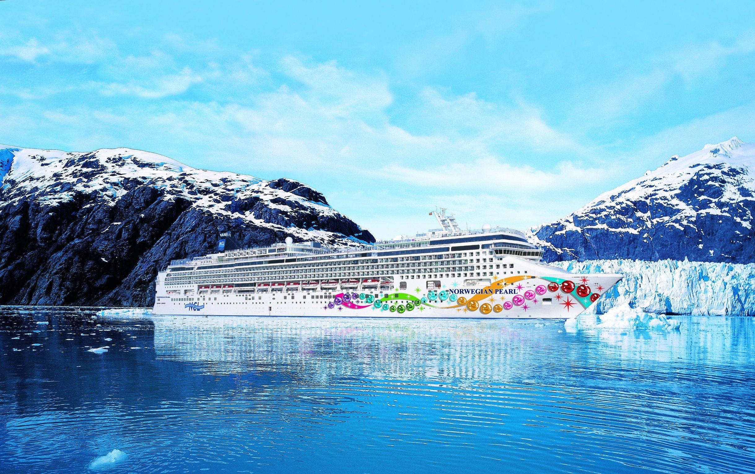 | Norwegian Pearl in Alaska!  I LOVE to cruise like a Norwegian !!!