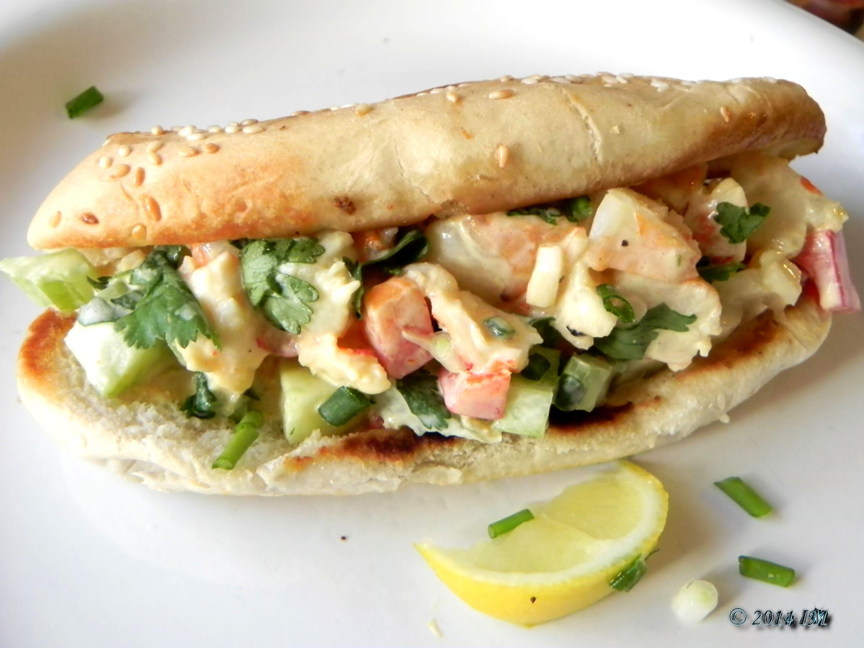 Lobster shrimp rolls http beyondfoods blogspot com 2014