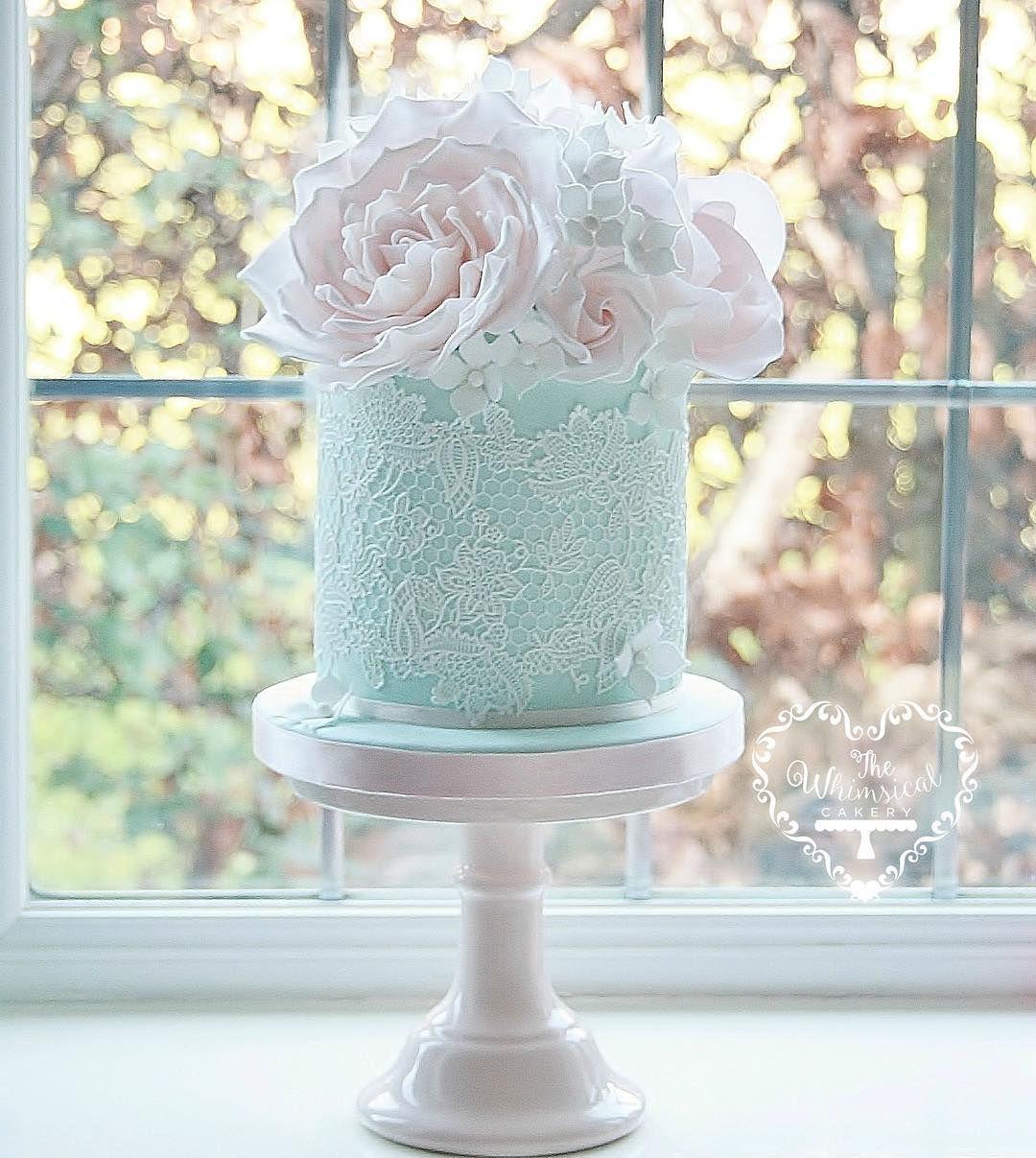 Edible Sugar Lace 02  Birthday Wedding Anniversary cake decoration,shipping from UK