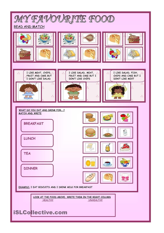 worksheet My Favorite Food Worksheet my favourite food 00 centers pinterest worksheets printable activities food