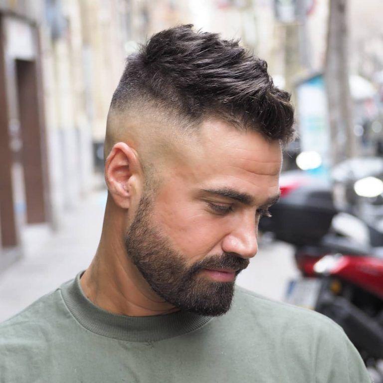 24+ High fade haircut with beard ideas in 2021