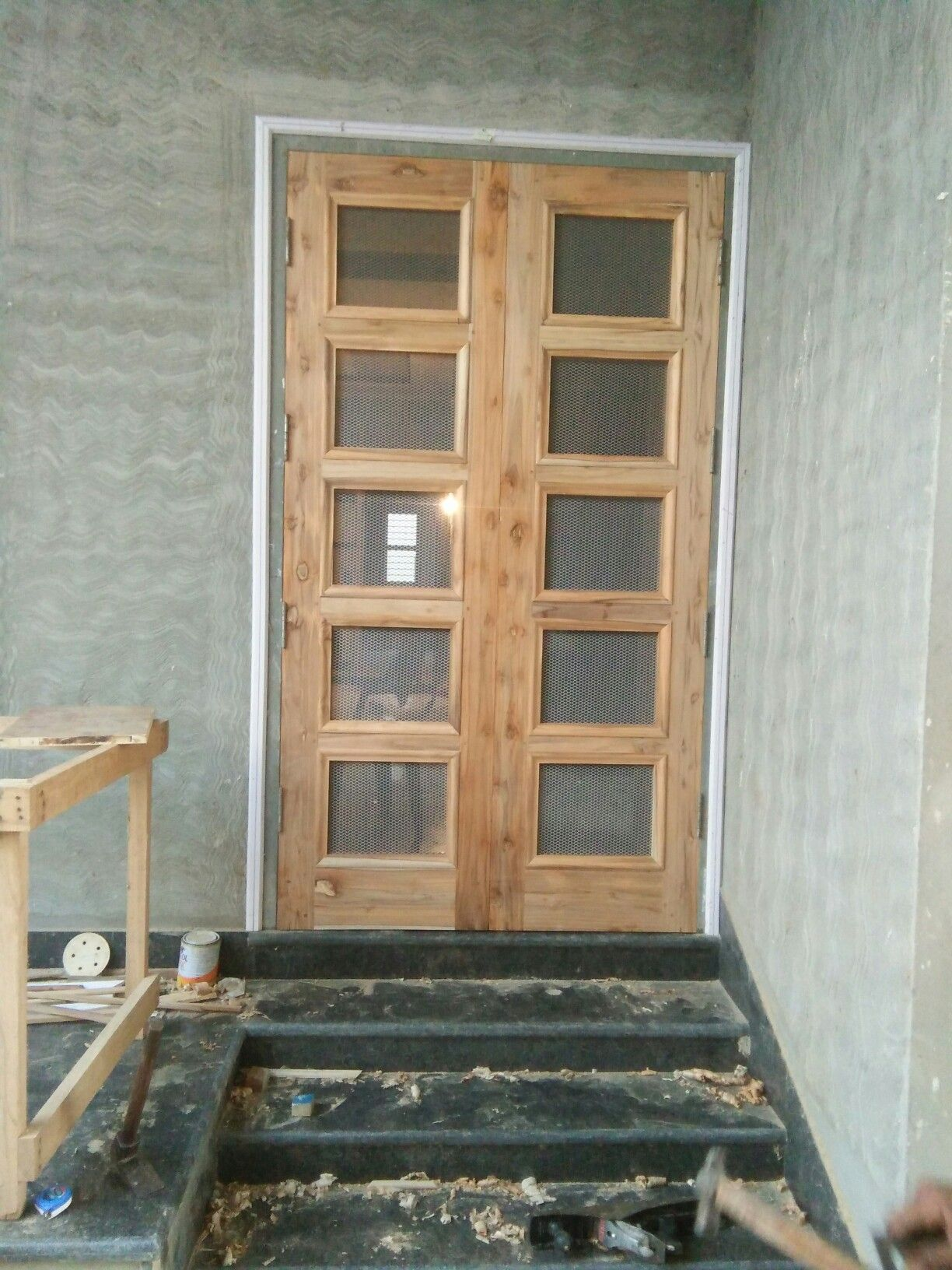 Jali Double Door Wooden Front Door Design Door Design Interior Wooden Door Design