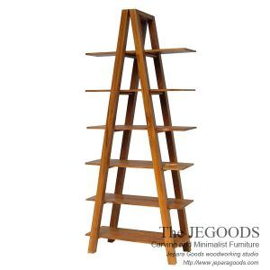 Tangga Rack Teak Modern Minimalist Design Is A Bookshelf And Produced By Jepara Goods Indonesia