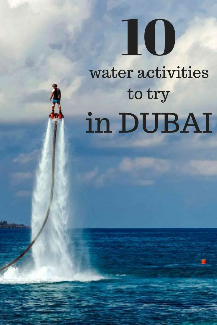 Ihram Kids For Sale Dubai: Dubai Water Sports And Activities -