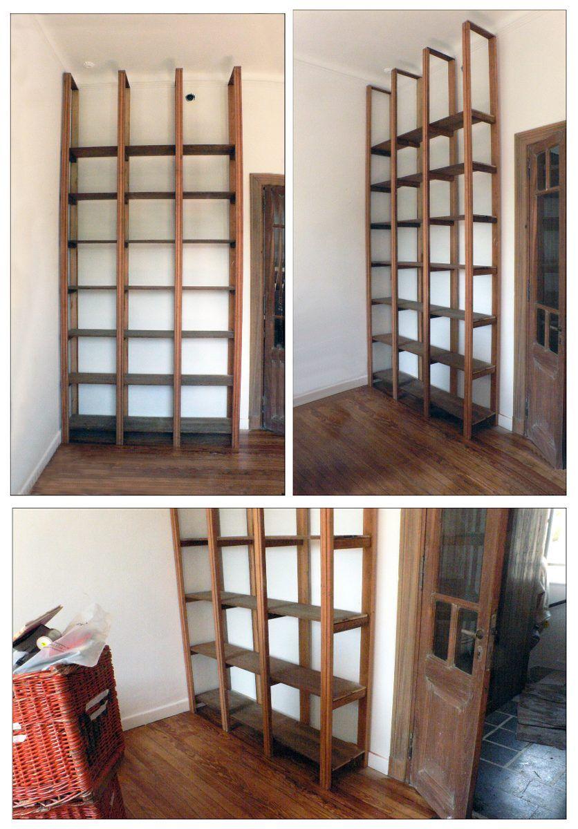 Bibliotecas estanterias a medida maderas antiguas - Estanterias a medida ...