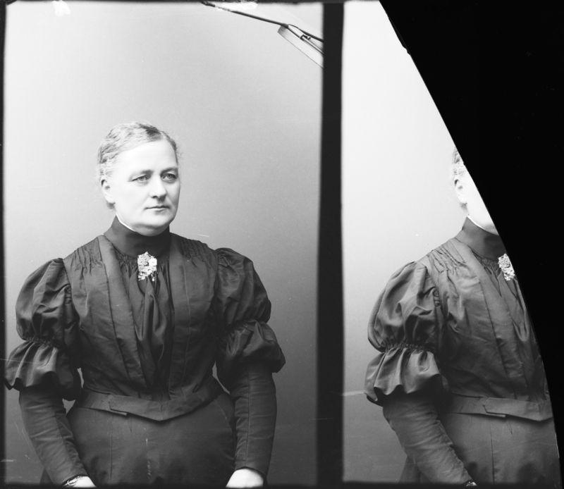Digitalt Museum - Paulina Brobeck Vänersborg 1907