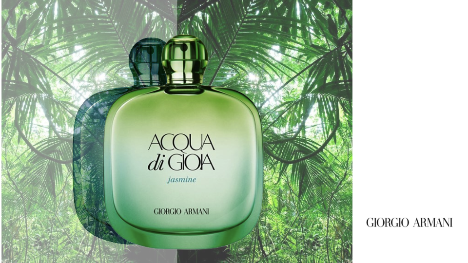 ACQUA DI GIOIA JASMINE di GIORGIO ARMANI Eau de Parfum Edizione Limitata Estate 2015