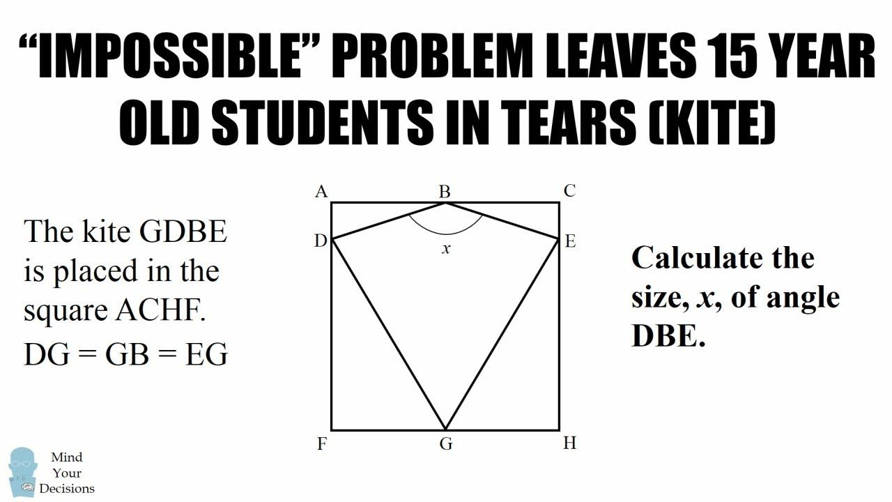 Another Impossible Math Problem Leaves 15 Year Olds In Tears New Zea Math Problems Math This Or That Questions [ 720 x 1280 Pixel ]