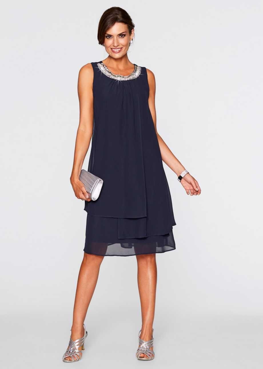 Premium Kleid mit Applikation | Elegantes outfit, Kleidung ...