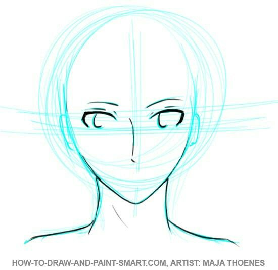 Face Structure For Anime Anime Face Shapes Anime Drawings Boy Anime Drawings