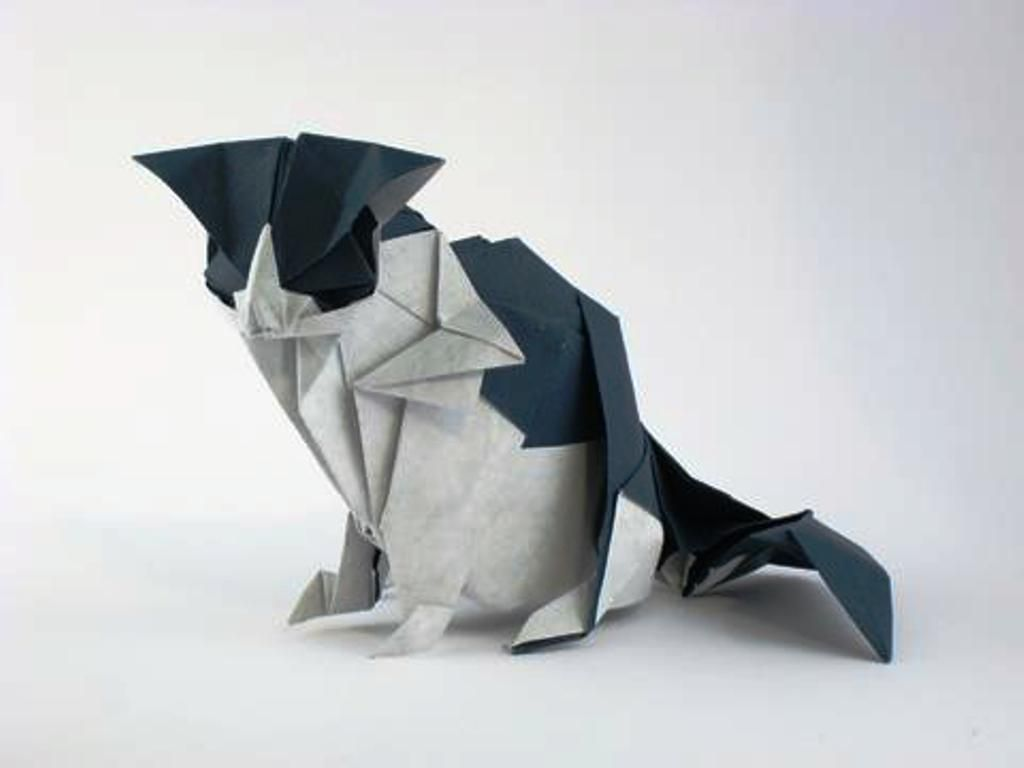How to make an Origami Blue Jay by Seth Friedman Origami 2 - photo#25