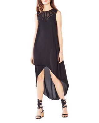 Bcbgmaxazria Mackenna High Low Dress Women Dresses Bloomingdale S Black High Low Dress Bcbg Dresses High Low Dress