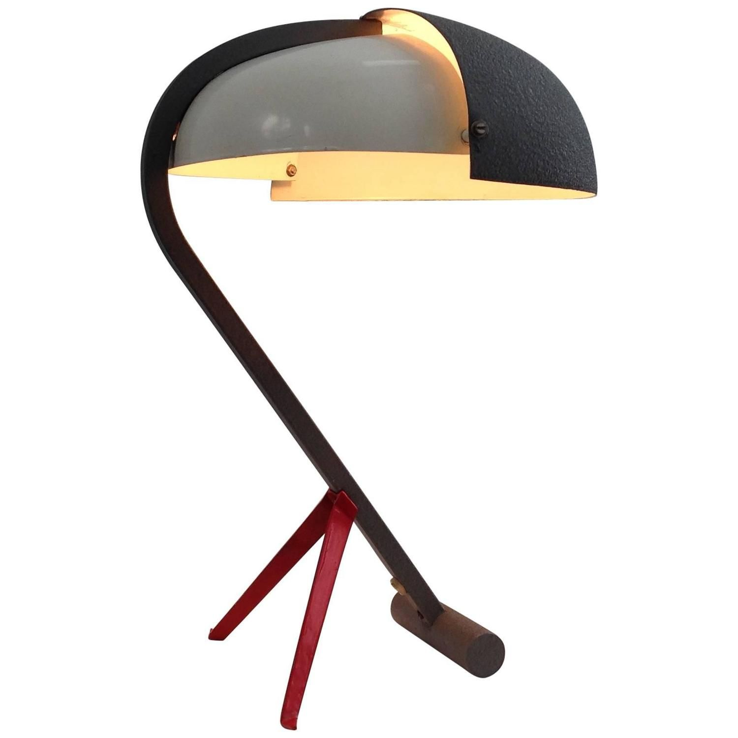 Very rare exclusive desk lamp by louis kalff by philips anno very rare exclusive desk lamp by louis kalff by philips anno 1950 mozeypictures Image collections