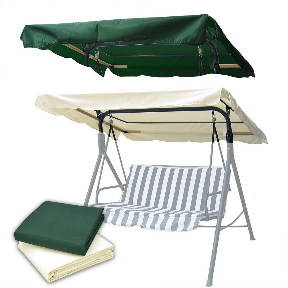 X outdoor patio swing canopy top replacement cover garden uv