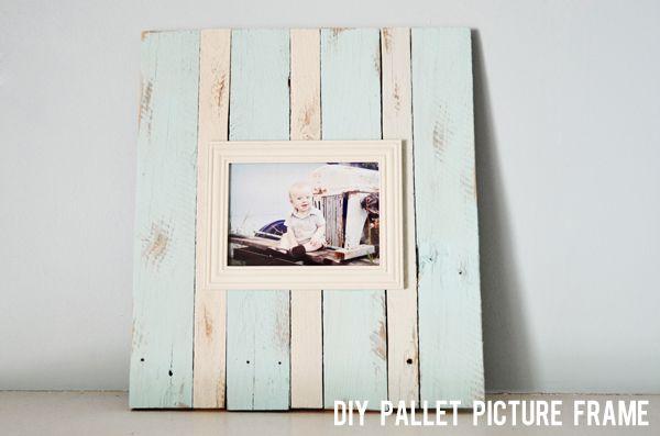 Pallet Frame Diy From Http Sherryturley Blogspot Com 2012 08 Diy