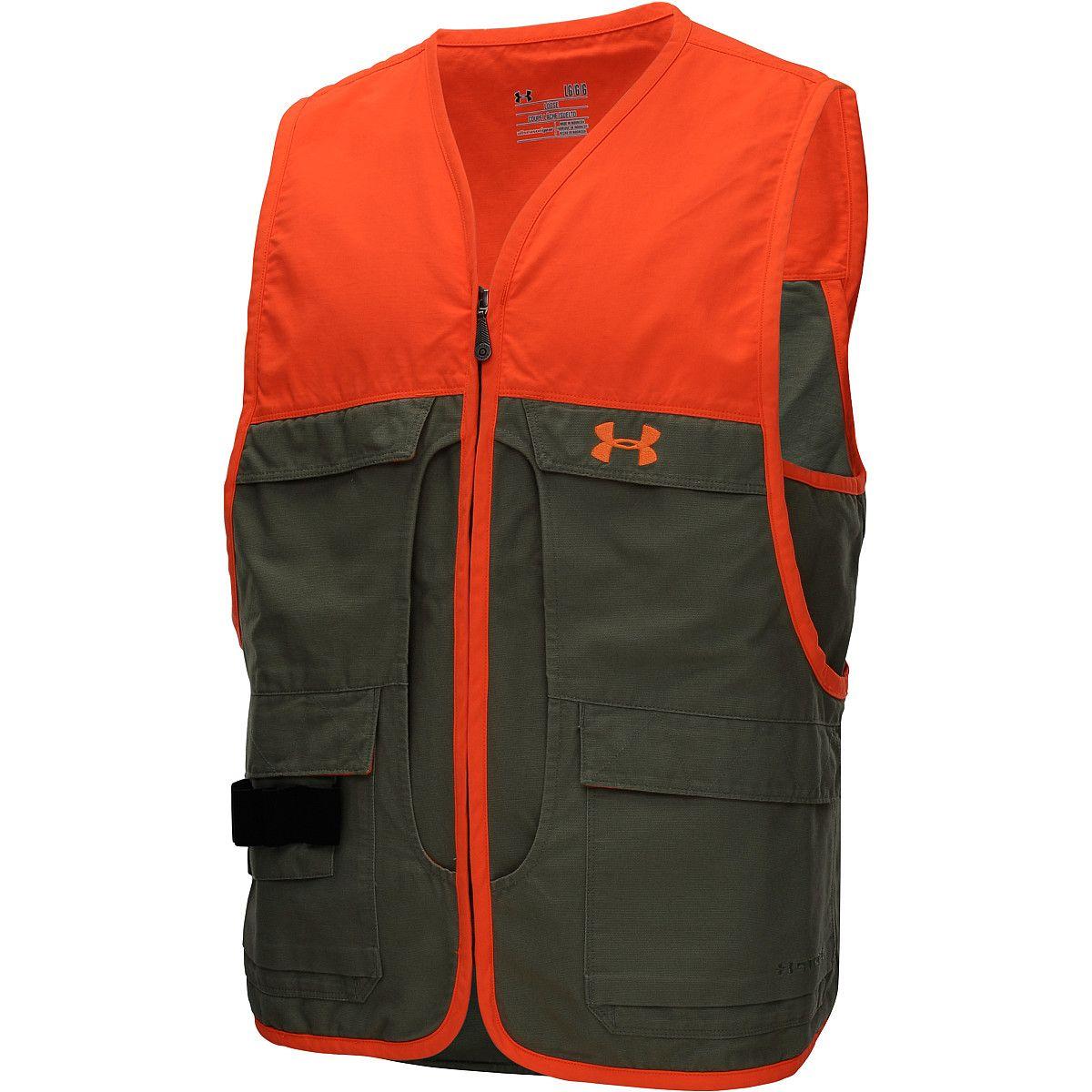 under armour blaze orange vest