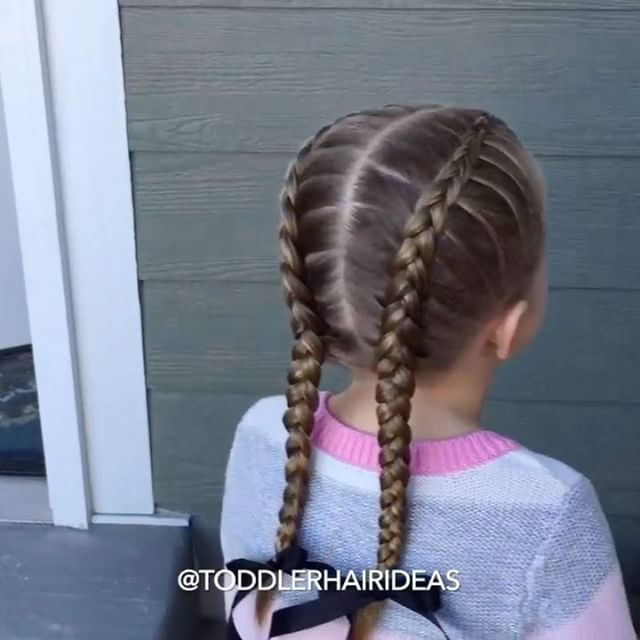 Howto: How To French Braid Pigtails Video
