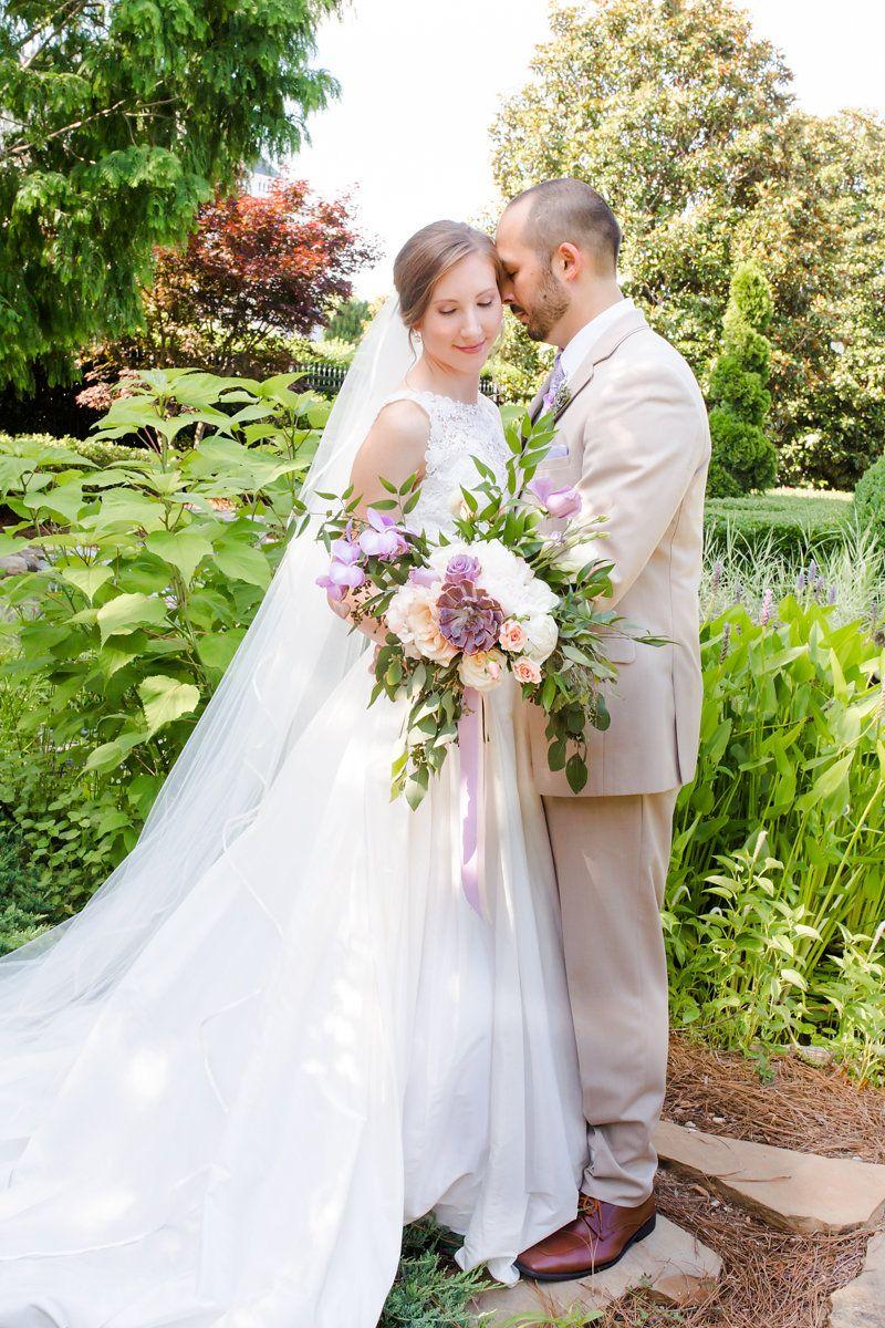 Raleigh Wedding Inspiration at the Landmark Hall + Gardens