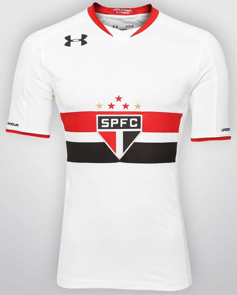 Nice Day Sports: Brazil São Paulo 2015-16 Under Armour Home & Away ...