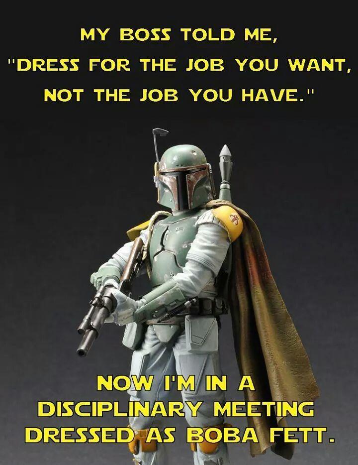 A Disciplinary Meeting Is Better Than A Sarlacc Pit Star Wars Memes Star Wars Humor Star Wars Nerd