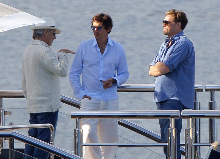 Pin for Later: 12 Steps to Living the Good Life Like Leonardo DiCaprio Then, bring your best friends aboard.
