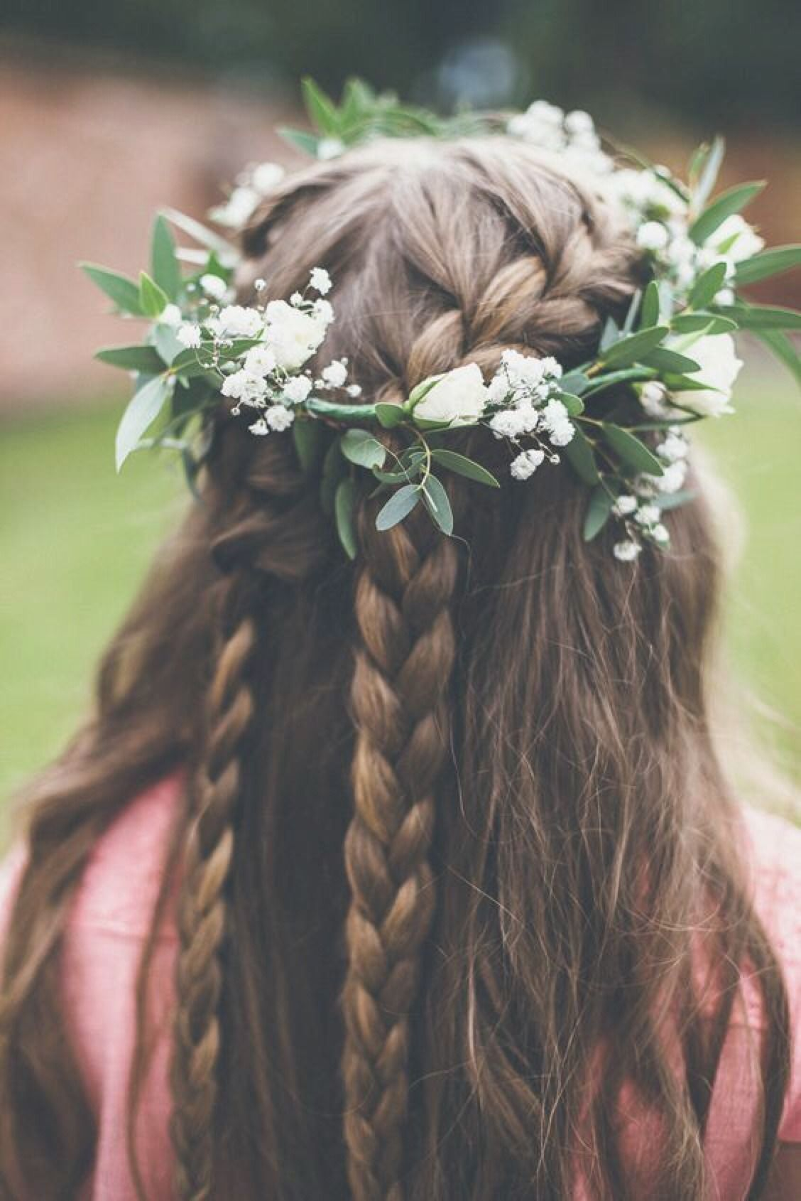 With braids flowers tumblr photo pictures