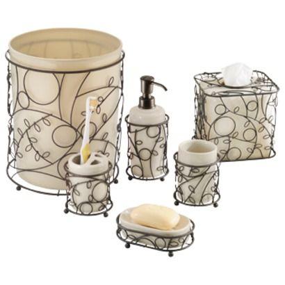 Interdesign Twigz Bath Coordinate Collection Color