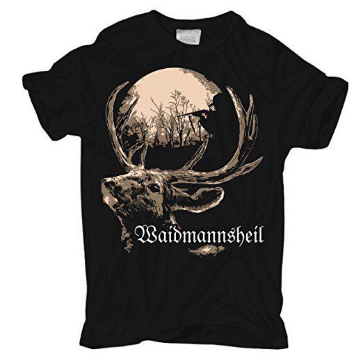 Männer und Herren T-Shirt Waidmannsheil