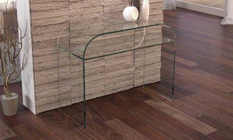 #Consolle in vetro luxury disponibile in 2  ad Euro 179.00 in #Groupon #Furniture
