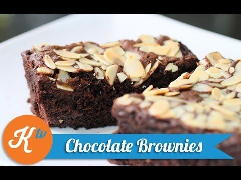 Resep Brownies (How To Make Nutella Brownies Video)  Brownies