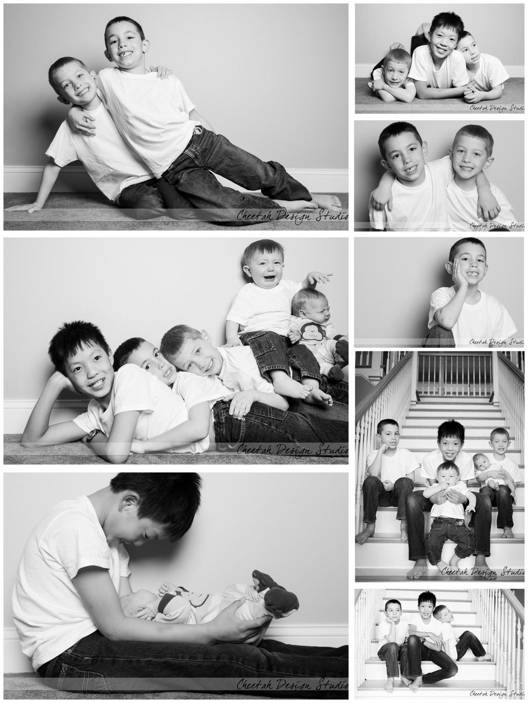 Great ideas for doing a shoot at home #toomanykidstowrangle #sibling ...