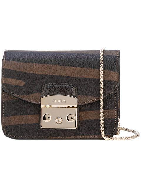 FURLA Panel Crossbody Bag. #furla #bags #shoulder bags #leather #crossbody #