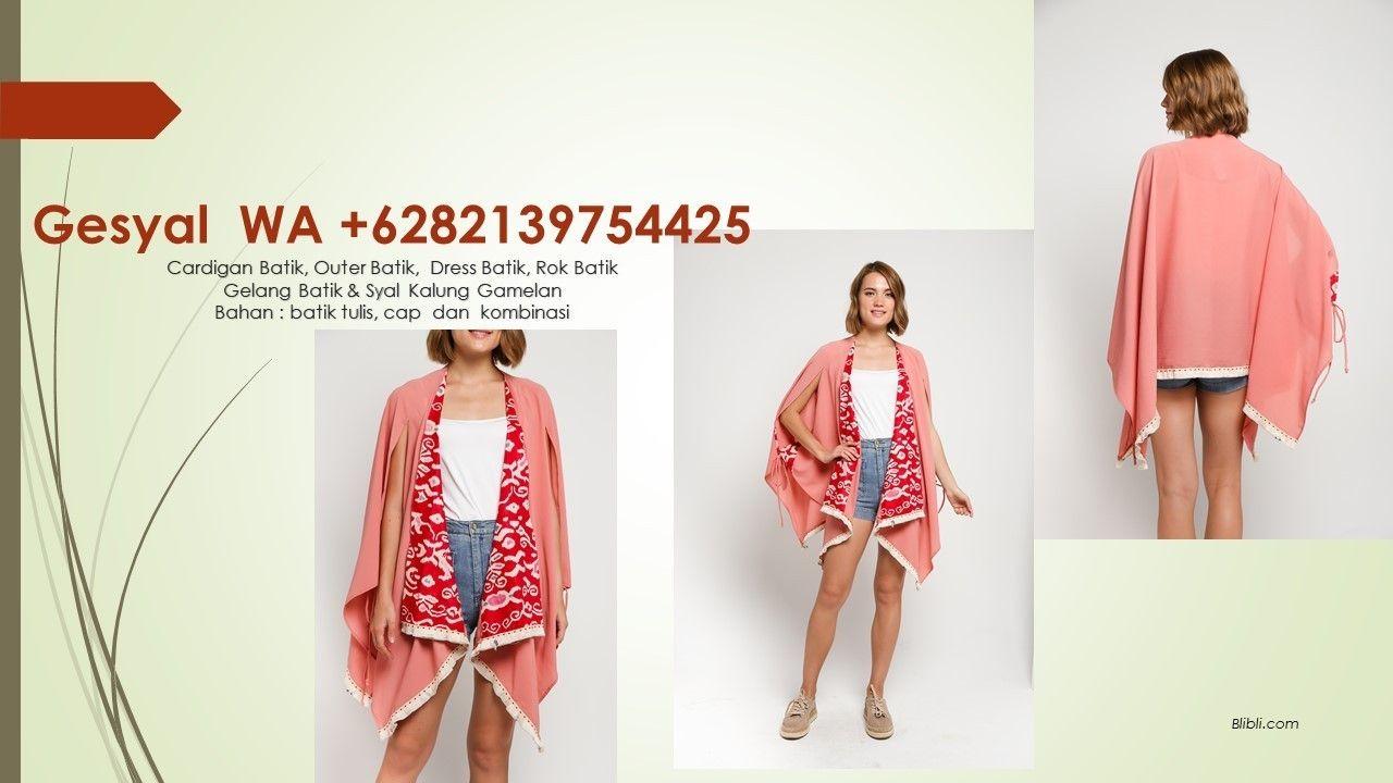+6282139754425 Tunik Batik Etnik, Tunik Batik Pinterest ...