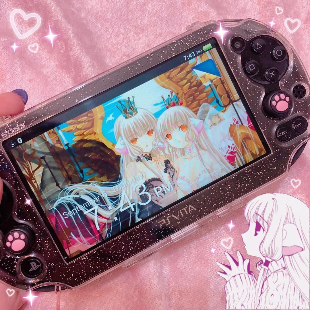 The Ps Vita Is So Good And Underrated I Love Mine But I Think I M Going To Pick Up The Pink White Japanese Model S Artsy Phone Cases Kawaii