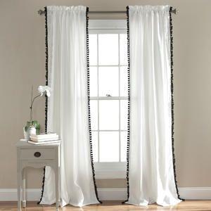 Pom Window Curtains