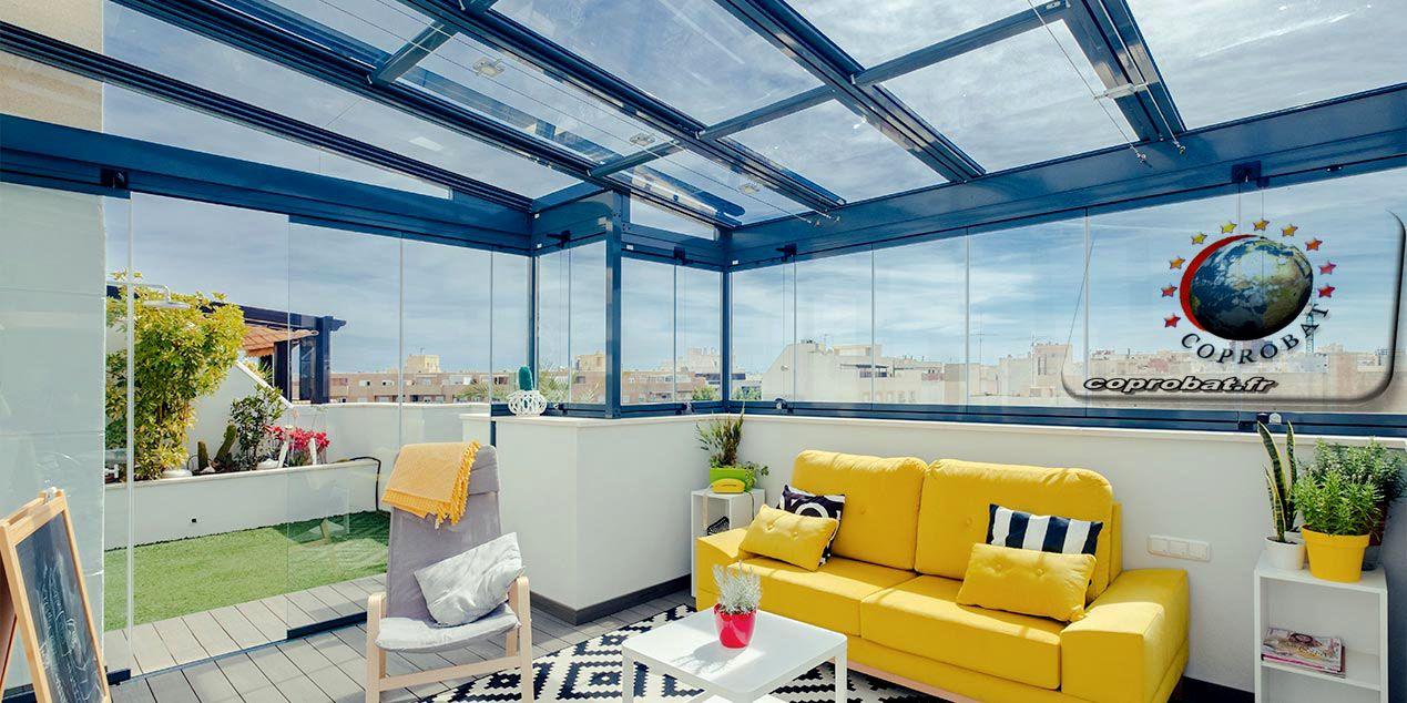 Couvrir Une Terrasse Pour En Faire Une Piece A Vivre Entierement Decouvrable Couvrir Une Terrasse Terrasse Vitree Terrasse