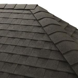 Gaf Timbertex Charcoal Double Layer Hip And Ridge Cap Roofing Shingles 20 Lin Ft Per Bundle 30 Pieces 0840180 The Home Depot Ridge Roof Roof Shingles Architectural Shingles