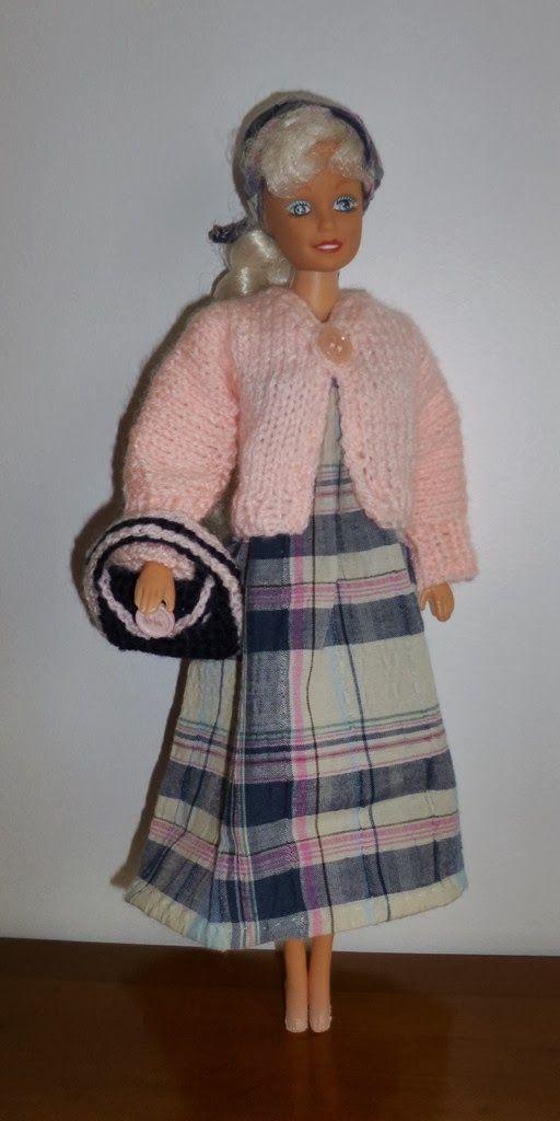Un Petit Gilet Pour Barbie Modèles Tricot Barbie