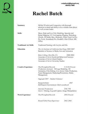 animator resume Design  Print Pinterest Resume, Print design