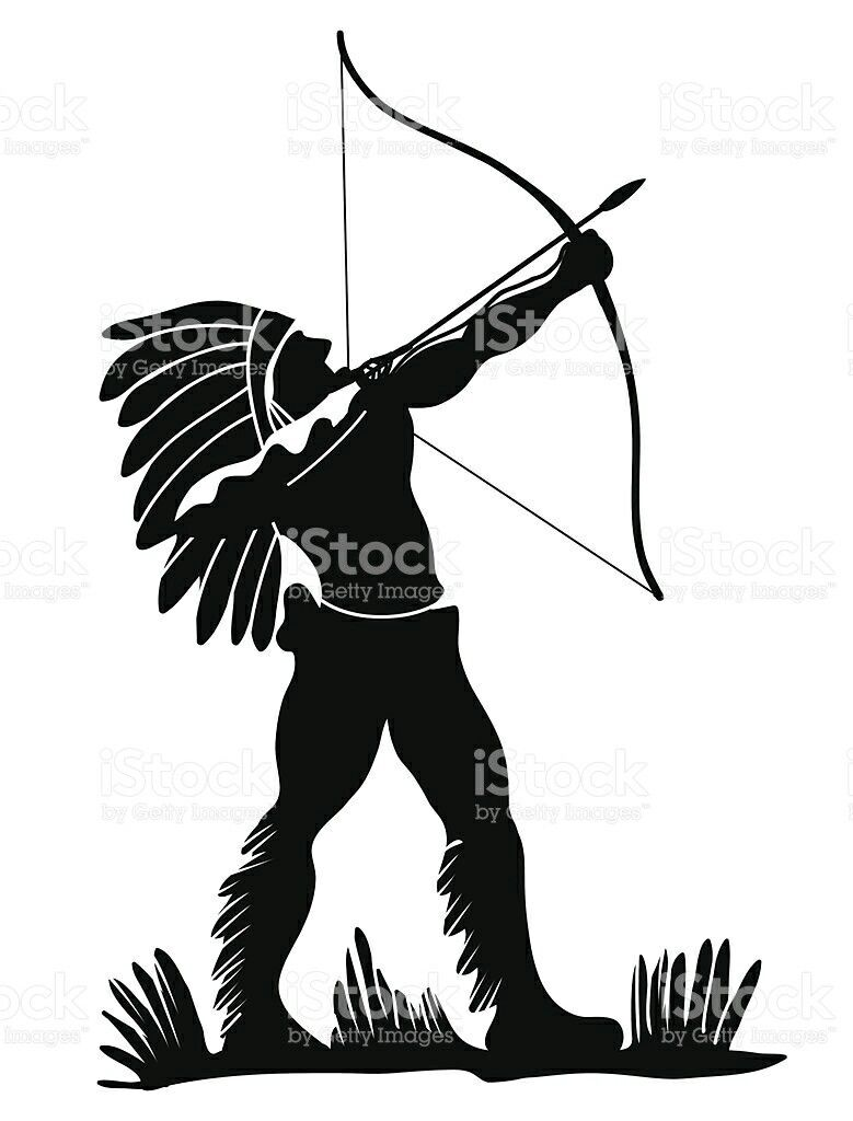 pin by ardisjackson19 gmail com on indian my culture we rude rh pinterest com  indian bow and arrow clip art