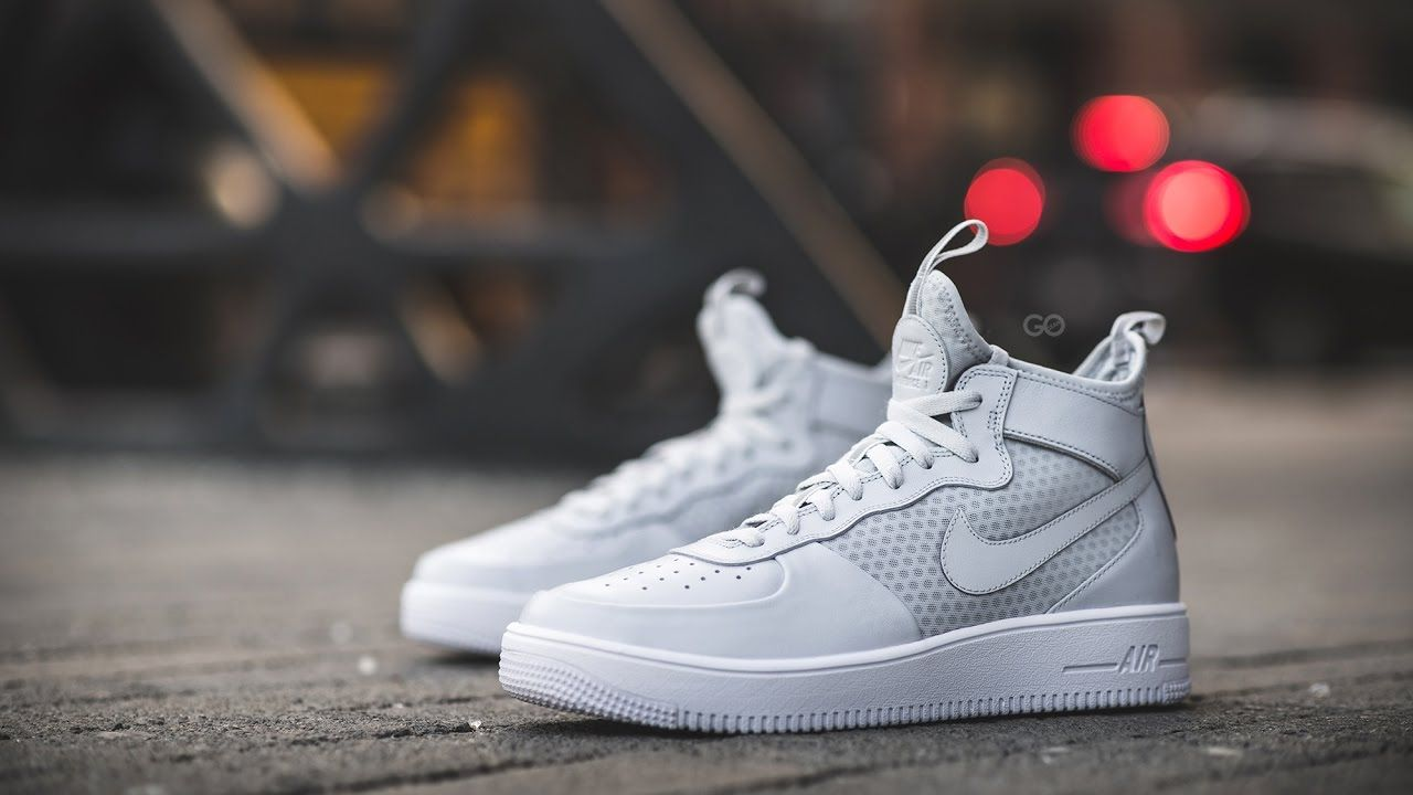 Canguro fondo de pantalla Alergia  Review & On-Feet: Nike Air Force 1 Ultraforce Mid | Nike air force, Nike,  Nike air force 1 outfit
