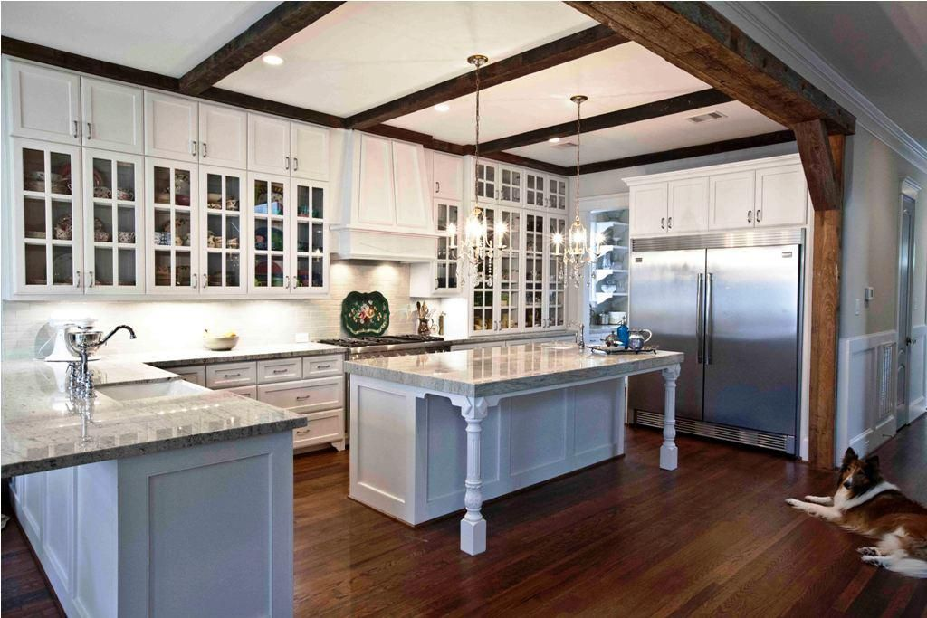 image of: country french farmhouse kitchen style ideas | kitchen