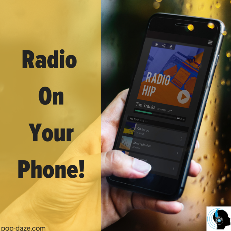 Anywhere you are, you can play our radio on your phone! Listen