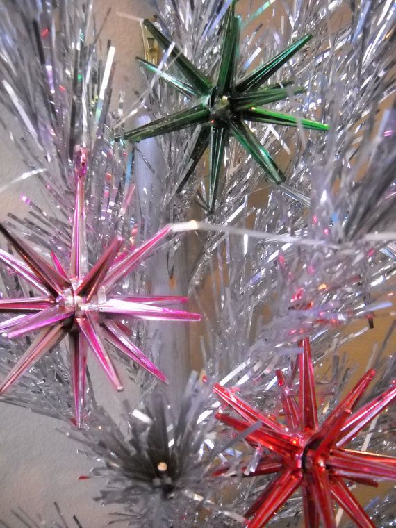 Mid Century Modern Xmas SPUTNIKS We Had These On Our