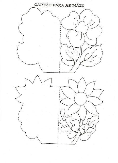 День матери открытки своими руками 1 класс шаблон, открытку цветы смешные