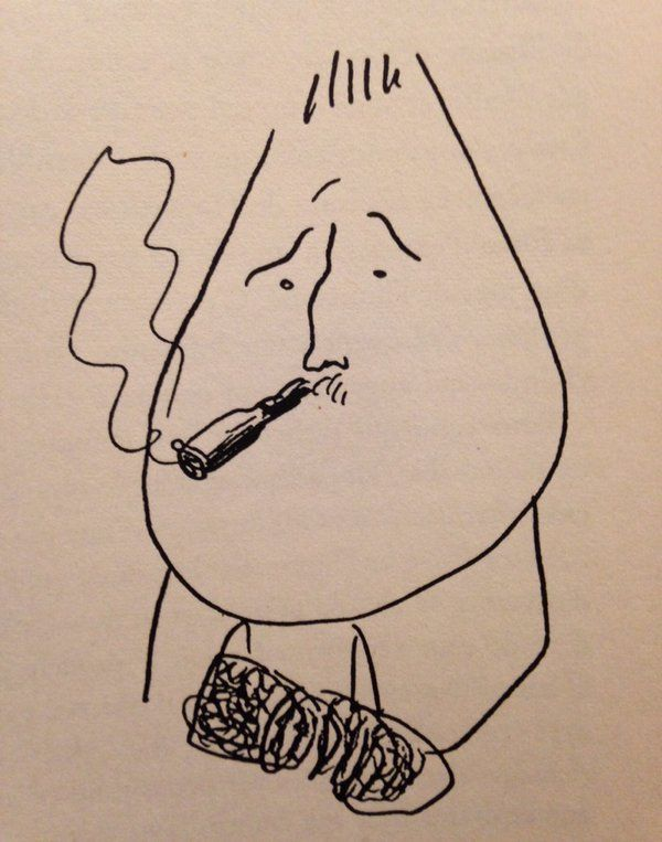Picasso's caricature of Apollinaire | Guy drawing, Drawings ...
