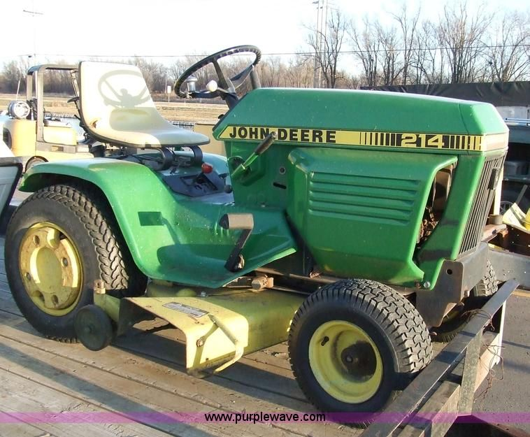 John Deere 214 riding lawn mower | Home Improvement