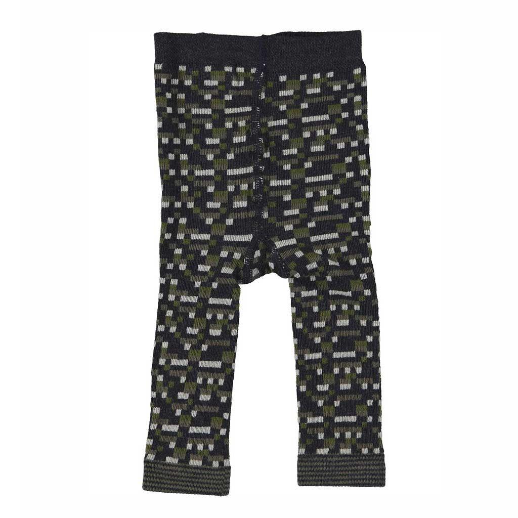 Organic Knit Baby Leggings / Navy | Footless tights, Baby leggings ...