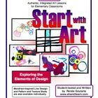 Start the Year With Art!  These five lessons introduce young students to the elements of art with exploratory, open-ended activities that also teac...